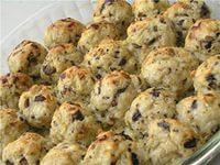 картофельные фрикадельки с грецкими орехами